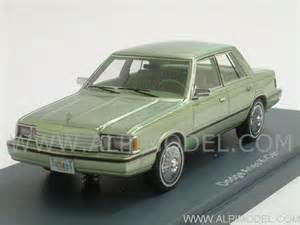 neo dodge aries k car 1983 light green metallic 1 43