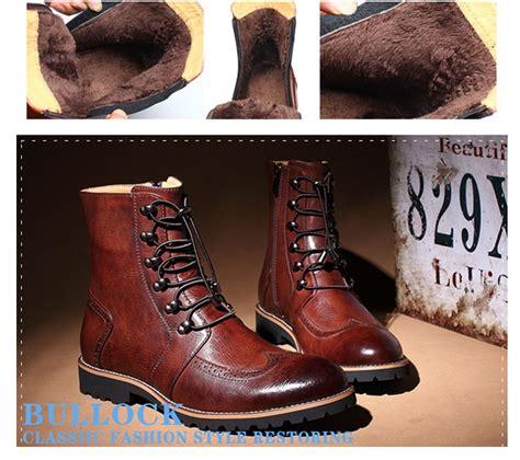 aliexpress bca new arrival fashion bullock shoes handmade super warm