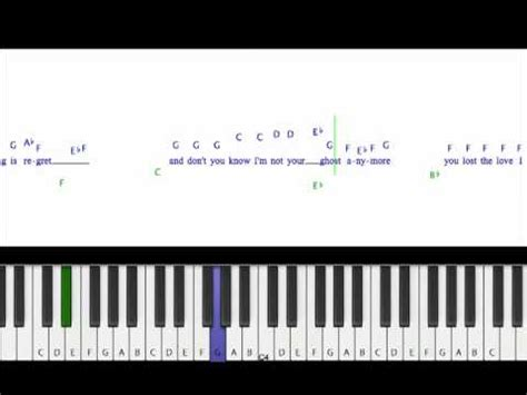 keyboard tutorial for jar of hearts how to play jar of hearts christina perri piano cover