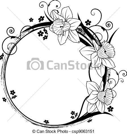 clip cornici clipart vettoriali di floreale cornice vettore cornice