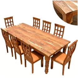 Dining Table Farmhouse Rustic Rustic Furniture Farmhouse Solid Wood Dining Table Chair Set