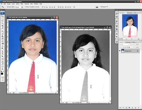 cara membuat foto hitam putih dengan photoshop bas studio net karya sederhana untuk anda