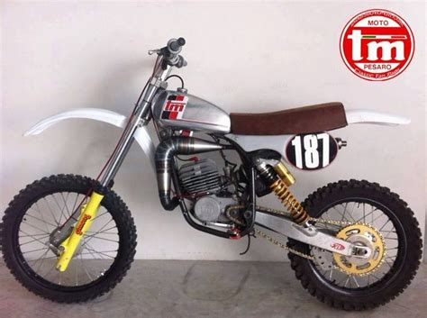 old motocross bikes 1980 tm 125mx so dainty looks like its fun as