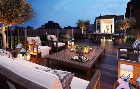 penthouse terrace eight stunning homes in the heart of mayfair london