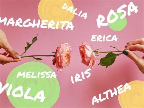 nomi di fiori femminili i fiori e i nomi femminili goovi