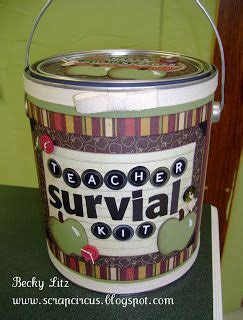 survival kit i bought an empty paint can from my