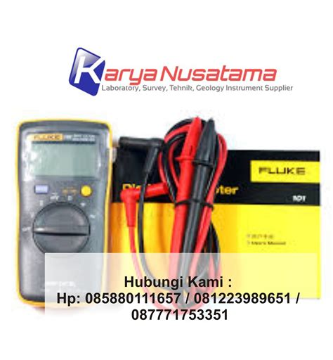Jual Multimeter Fluke Bekas jual fluke 101 digital multimeter supplier alat safety