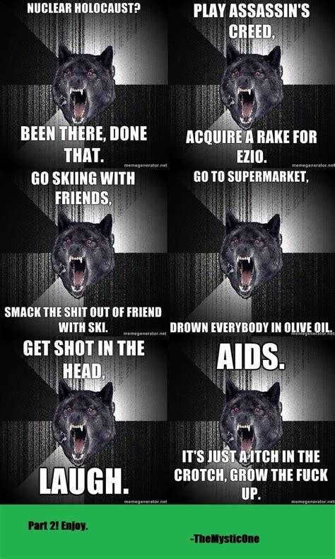 Scene Wolf Meme - funny insanity wolf children meme 150x150 jpg memes