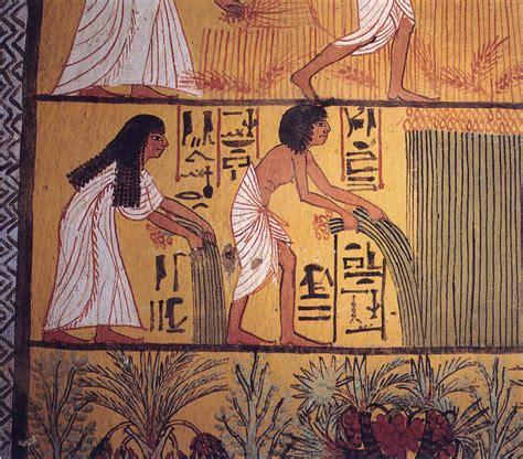 Jewelry Making Jobs - file egyptian harvest jpg wikimedia commons