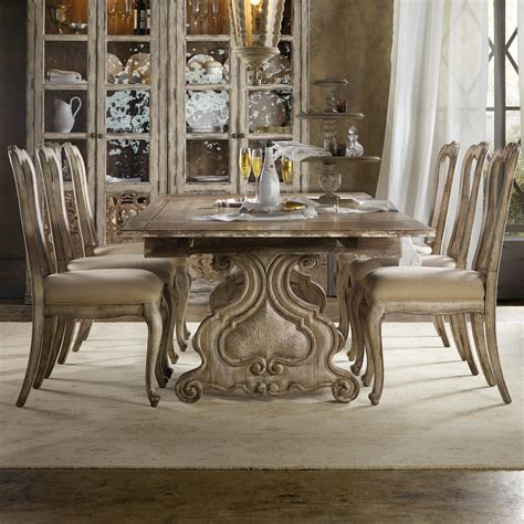 hooker dining room set hooker furniture chatelet 7 piece dining set with