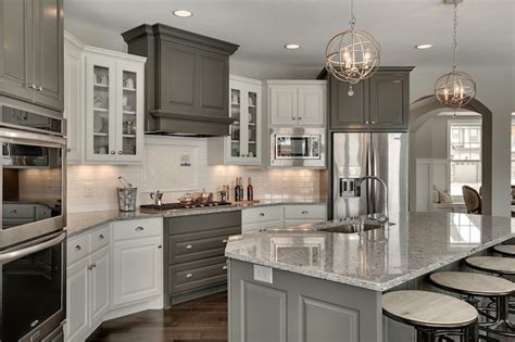 Kendall Charcoal Kitchen Cabinets by Kitchen With Corner Stove Transitional Kitchen