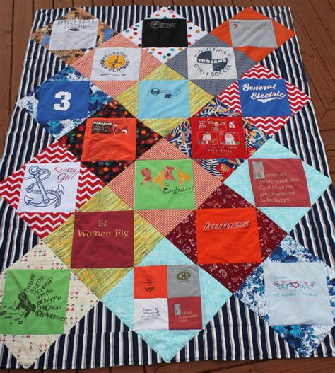 pattern quilt shirt t shirt quilt twin or full bed diamond pattern deposit only
