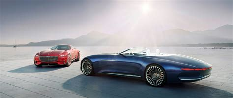 maybach car mercedes benz vision mercedes maybach 6 cabriolet luxury of the future