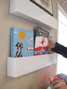 wall bookshelves for nursery how to make wall shelves for books in the nursery