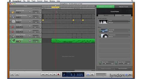 layout animation parameters editing the parameters of software instruments