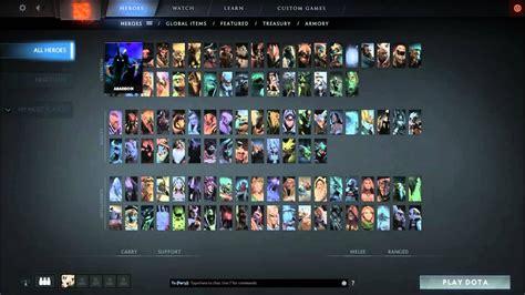 Dota 2 Heroes dota 2 reborn list filter