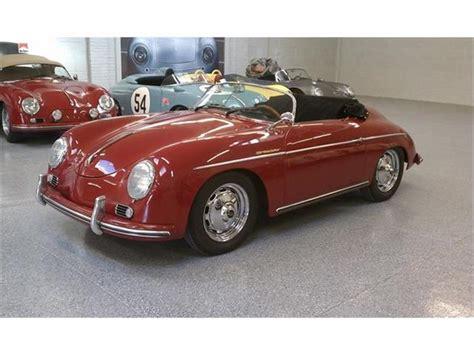1957 porsche speedster 1957 porsche speedster for sale on classiccars 27