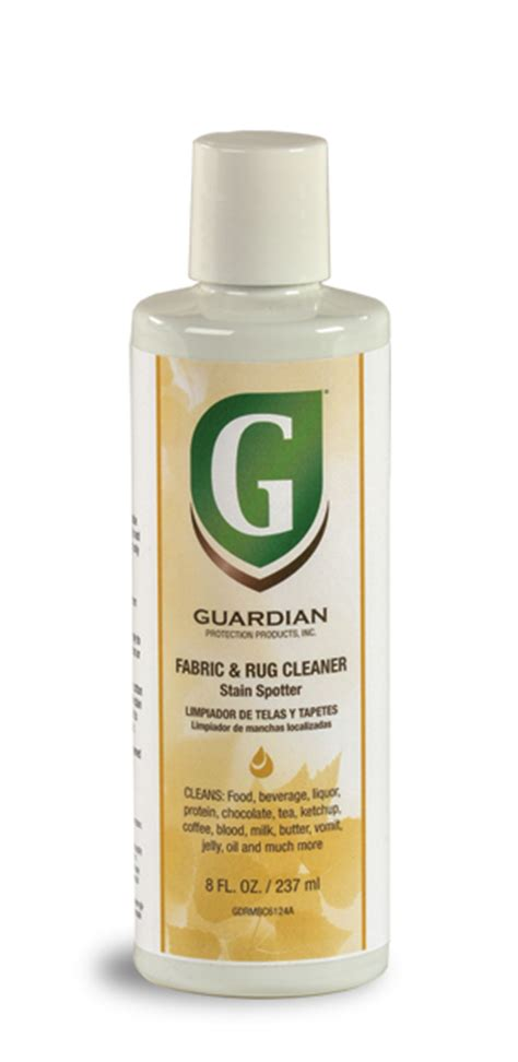 rug cleaner guardian fabric rug cleaner stain spotter