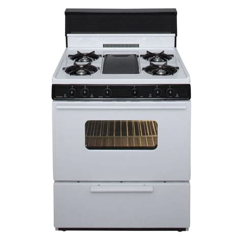 Oven Gas 2 Jutaan premier 30 in 3 91 cu ft battery spark ignition gas