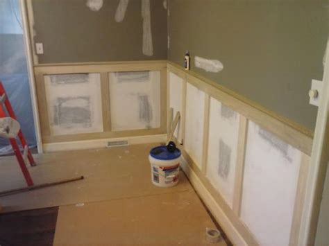 Mission Style Wainscoting by Need Some Help Advice With Craftsman Style Wainscoting