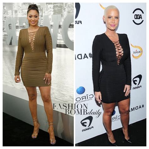 Who Wore It Better Cap Sleeve Mini Dress by Who Wore It Better Lala Anthony Vs In Balmain