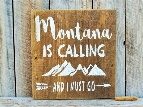 montana home decor montana is calling and i must go rustic home decor montana