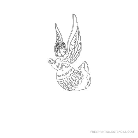 printable stencils of angels free printable angel stencils free printable stencils