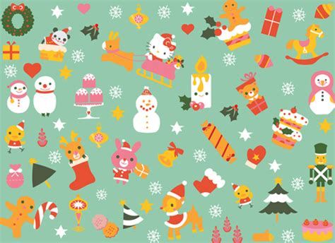 wallpaper christmas sanrio hello kitty holiday wallpaper cute pinterest holiday