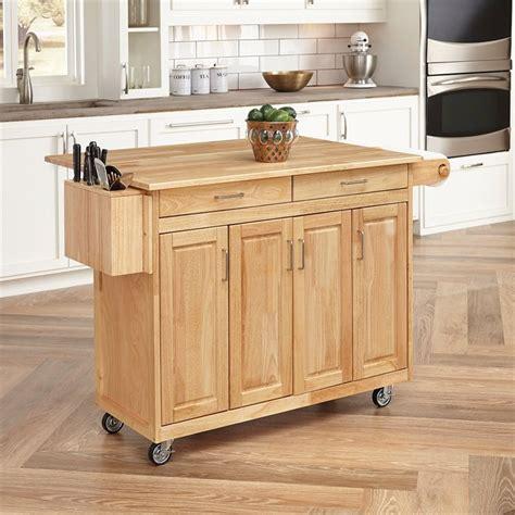 kitchen island cart with breakfast bar kitchen cart with breakfast bar in finish 5023 95