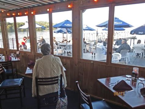 The Chart Room Bar Harbor by Looking Out From Lower Dining Porch Picture Of Chart