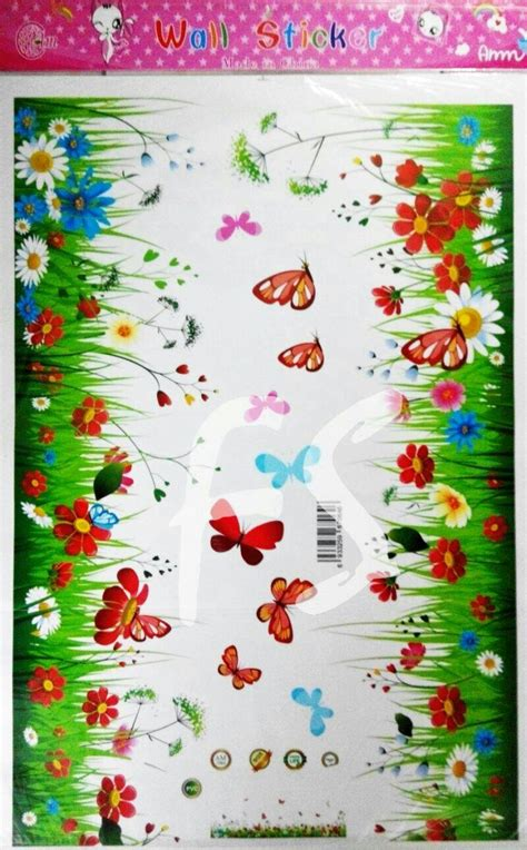 Sticker Kompor Motif Bunga Matahari jual stiker dinding bunga stiker dinding murah