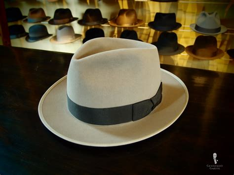 hat with light in brim the fedora hat guide thrifty male