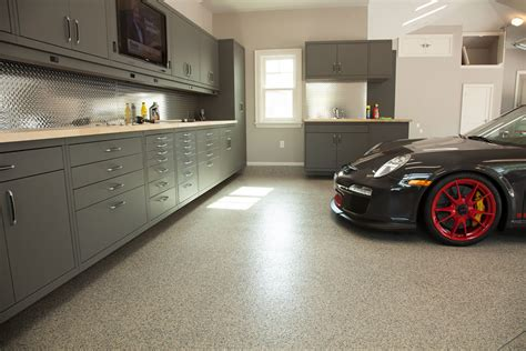 Red Barn Auto Floortex Coating Strong And Durable Enough For The Us Navy