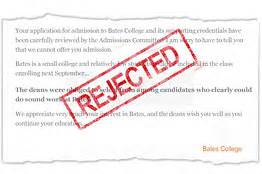 When Do College Acceptance Letters Come Out All American Rejection Letters Higher Ed Marketing