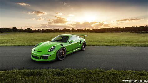 porsche 911 gt3 rs green porsche 911 gt3 rs jeremy cliff