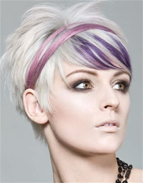 hairstyles for gray hair 2011 stylish punk hair color ideas