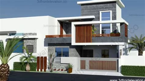 10 marla house plan modern design 2016