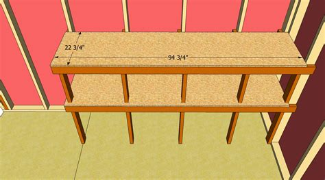 How To Build Shelves In A Shed by How To Build Shed Shelves Howtospecialist How To Build