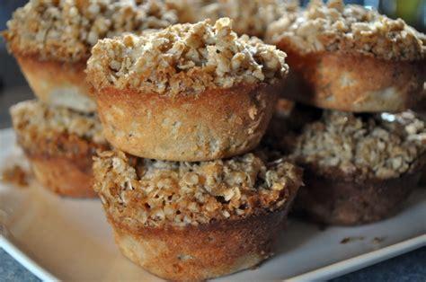52 Weeks Of Baking Week 52 Gooey Banana Cupcakes by Banana Oatmeal Crunch Muffins 52 Menus 52 Weeks