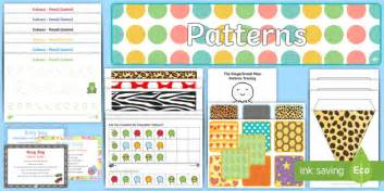 shape pattern eyfs childminder patterns eyfs resource pack eyfs patterns shape