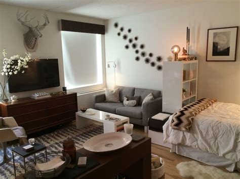 Ideas On Decorating A Studio Apartment Small Studio Apartments 4 Trendy Mods