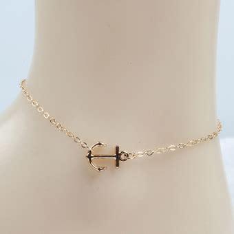 Perhiasan Gelang Pergelangan Kaki by Cek Harga Baru Gelang Rantai Emas Mini Channel Kekinian