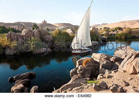 nile sailboats egypt aswan sailboats on nile river at sunset stock