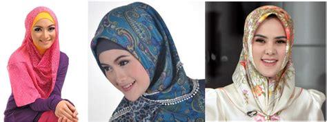 Model Jilbab Segitiga ragam model jilbab cantik terkini untuk lebaran 2017