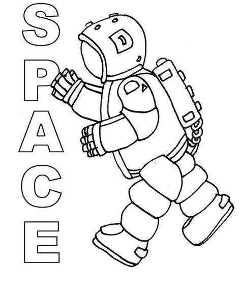 Preschool Coloring Pages Outer Space | pin by coloring fun on space pinterest astronauts