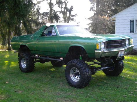 el camino lifted elcamino4x4guy 1972 chevrolet el camino specs photos