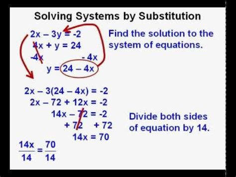 solving single how to get the ring not the run around books algebra 2 course lesson 11 solving systems of equations by