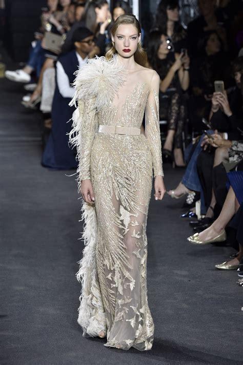 elie saab at paris fashion week haute fall