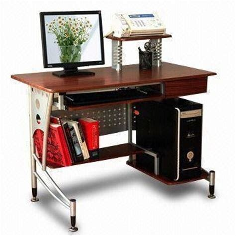 Laptop Desk With Printer Shelf China Modern Computer Desk With Cpu Stand Printer Frame Book Shelf Mt 866 China Computer