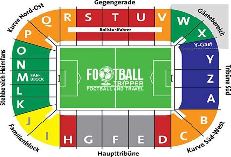 Allianz Arena Away Section by Wwk Sgl Arena Fc Augsburg Guide Football Tripper
